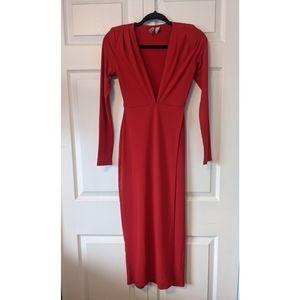 H&M Midi Dress with Side Slit